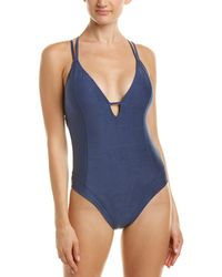 Lucky Brand - Suede With Me One-piece - Lyst
