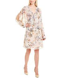 ABS Collection Abs By Allen Schwartz Midi Dress - Pink