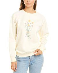 South Parade Raglan Sweatshirt - White