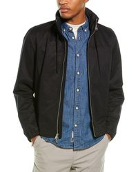 Vince Full-zip Hooded Jacket - Black