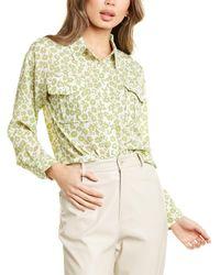 Lucy Paris Wilsa Floral Top - Green