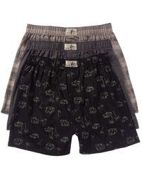 Lucky Brand 3pk Boxers - Black