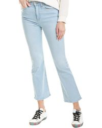 Rag & Bone Nina High Waist Ankle Flare Jeans - Blue