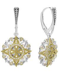Lagos Wanderlust 18k & Silver 0.35 Ct. Tw. Diamond Earrings - Metallic