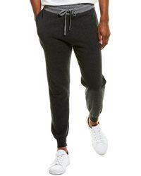 Phenix Cashmere-blend Jogger Pants - Grey