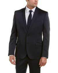 Kenneth Cole Reaction Skinny Fit - Blue