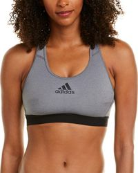 adidas Outdoor Don't Rest Alphaskin Sports Bra - Gray