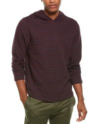 Vince Popover Hoodie - Red