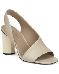 699ced7ffaa077 Donald J Pliner - Women s Ella Leather Column Heel Sandals - Lyst