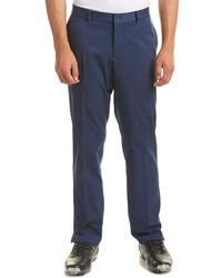 Nike Flat Front Pant - Blue