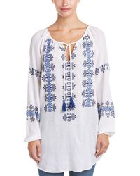 4our Dreamers - Embroidered Blouse - Lyst