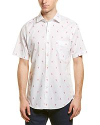 Peter Millar Men's Maine Squeeze Short-sleeve Sport Shirt - White