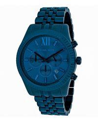 Michael Kors Lexington Watch - Blue