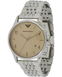 Emporio Armani Men's Stainless Steel Watch - Metallic