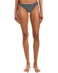 Nanette Lepore Swim Femme Dot Charmer Bikini Bottom - Black