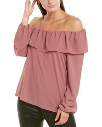 1.STATE Blouse - Pink