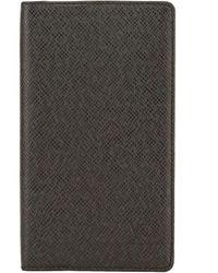 Louis Vuitton Black Taiga Leather Agenda Cover