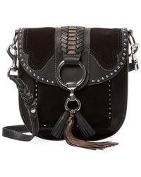 Frye - Ilana Western Leather Saddle Bag - Lyst