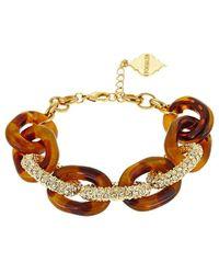 Fornash - Plated Crystal Bracelet - Lyst