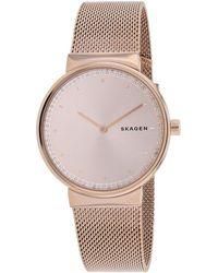 Skagen Denmark Annelie Watch - Pink