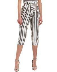 Pinko - Nomade Line-blend Trouser - Lyst