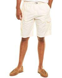 Woolrich Popeline Short - White