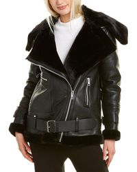 Walter Baker Celine Leather Jacket - Black