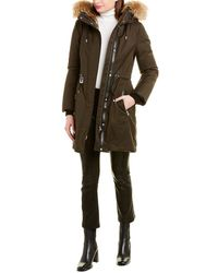 Mackage Anabel Leather-trim Parka - Multicolour