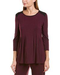 Donna Karan - Sleepwear Pajama Top - Lyst