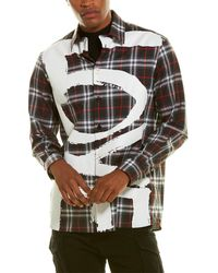 Burberry Love Print Vintage Check Shirt - Black