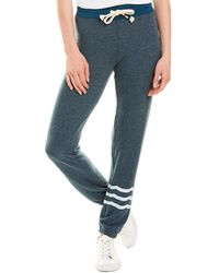 Sol Angeles Waves Hacci Slim Jogger - Blue