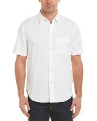 Rag & Bone Fit 3 Classic Beach Shirt - White