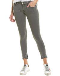 Rag & Bone Cate Frayed - Hem Skinny Jeans In Alma - Gray