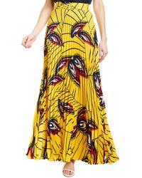 Ba&sh Wow Maxi Skirt - Yellow