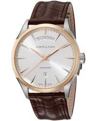Hamilton Jazzmaster Watch - Metallic