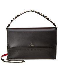 Christian Louboutin - Loubiblues Leather Shoulder Bag - Lyst