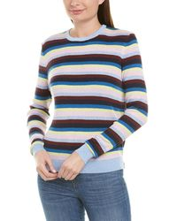 Kule The Lucia Stripe Sweater - Blue