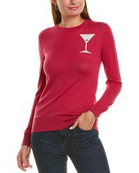 Trina Turk Old Fashioned Wool Jumper - Red
