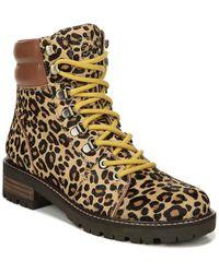 Sam Edelman Tamia Leather Bootie - Multicolour