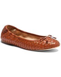 J.McLaughlin Mercer Leather Ballet Flat - Brown