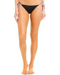 FRAME Bisset Bikini Bottom - Black