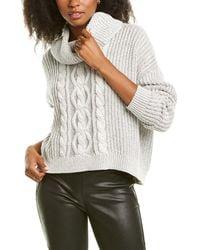 Bobi Cropped Sweater - White