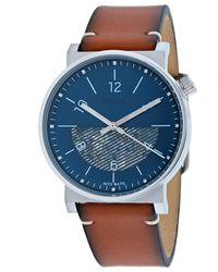 Fossil Me3168 S Barstow Watch - Blue