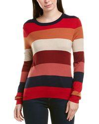 Splendid Crewneck Pullover Sweater Sweatshirt - Red
