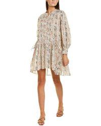 Étoile Isabel Marant Anaco Mini Dress - White