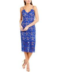 Bardot Tayla Midi Dress - Blue