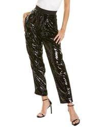Dundas Sequin Trouser - Black