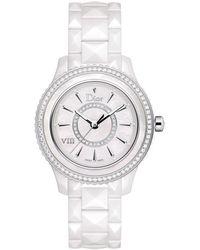 Dior Women's Viii Diamond Watch - Metallic
