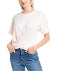 Habitual Tie-back T-shirt - Pink