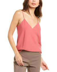 Theory Easy Slip Top - Pink